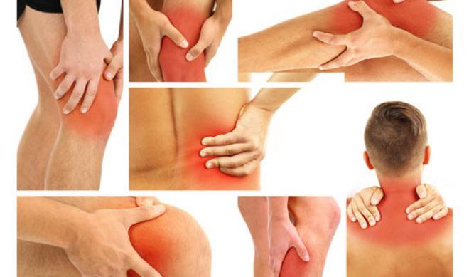 Cơ bắp, xương khớp lỏng nhão và suy yếu